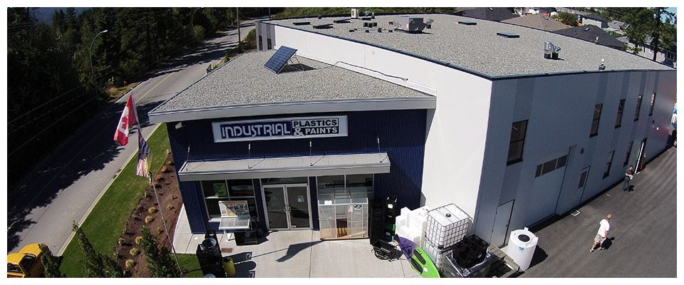 Industrial Plastics & paints store front
